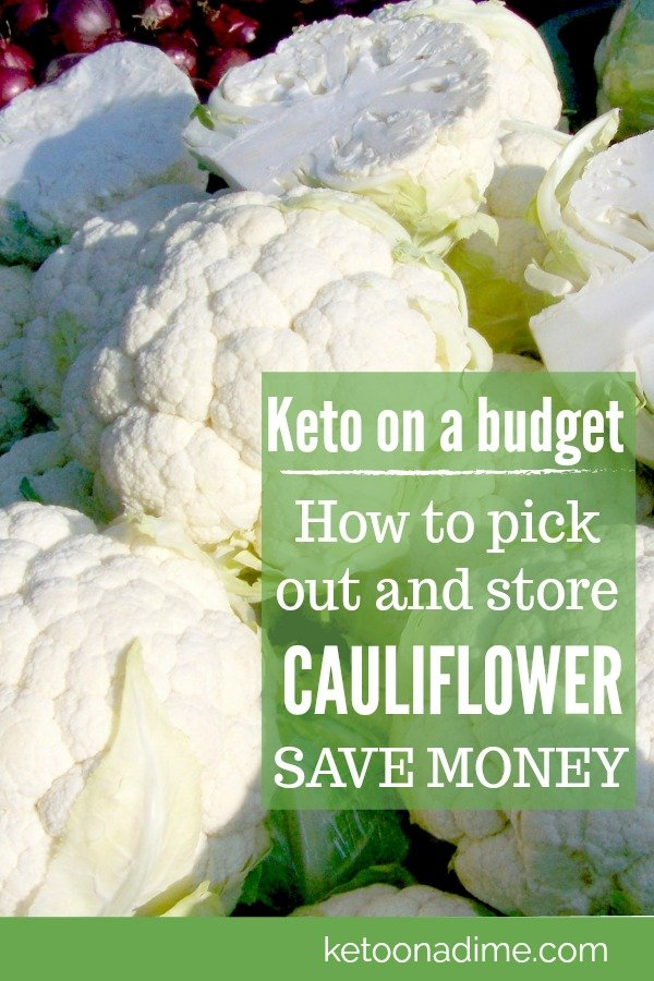 Cauliflower: How long it keeps and how to store it!