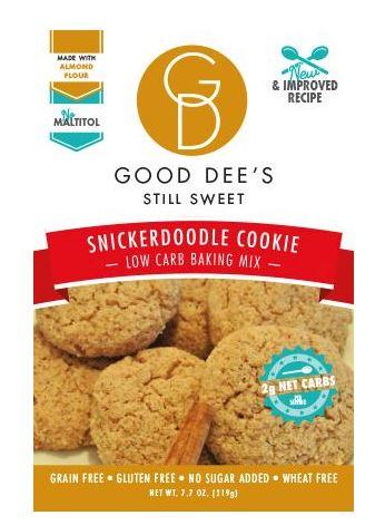 Keto Deal Alert: Good Dee's Snickerdoodle cookie mix
