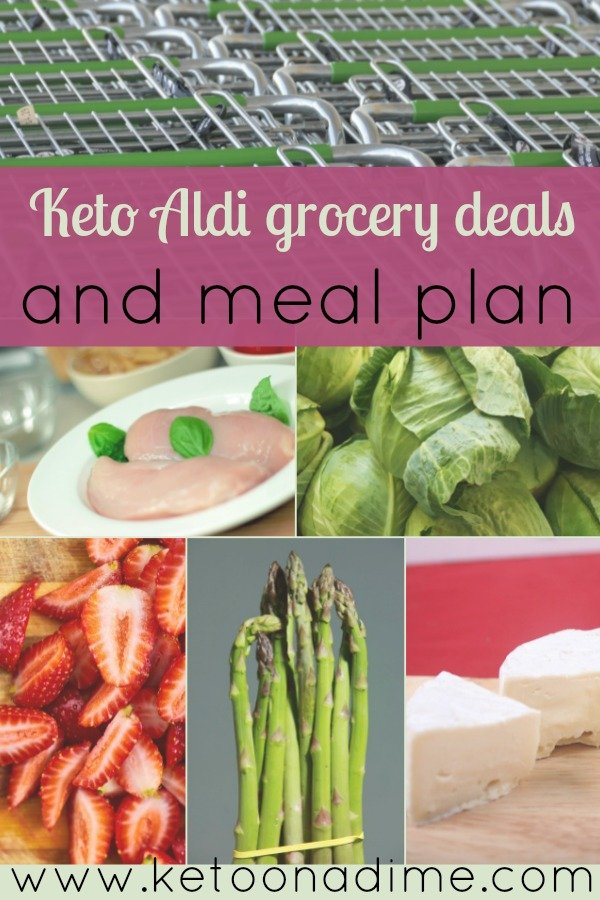 Keto grocery deals at Aldi with meal plan (week of 3/14
