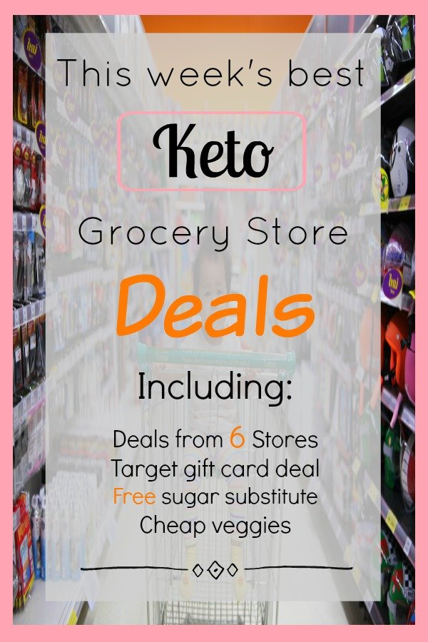 Keto Grocery Store Deals Roundup