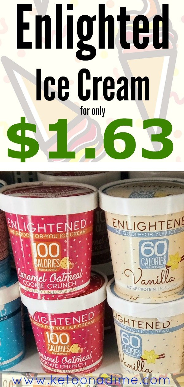 Get Enlightened Ice Cream Pints Cheap (only $1.67)