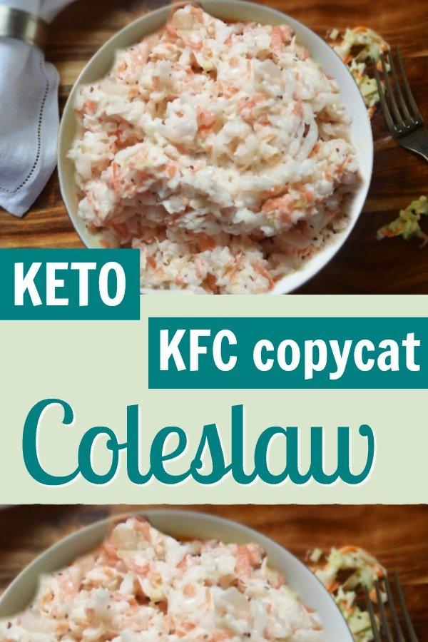 Keto KFC copycat Coleslaw