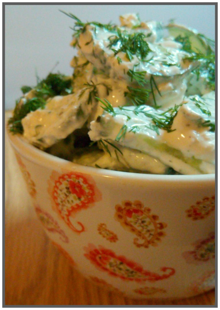 Keto Cucumber Salad – Keto on a Dime