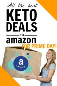 Keto deals on Amazon Prime Day