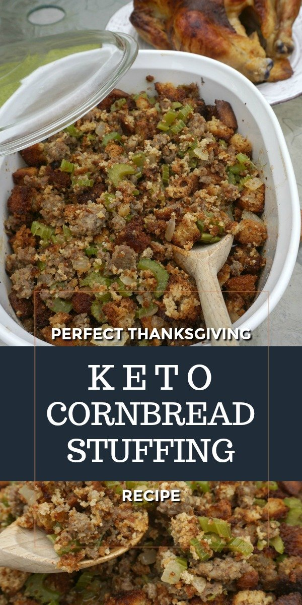 Keto Cornbread Stuffing