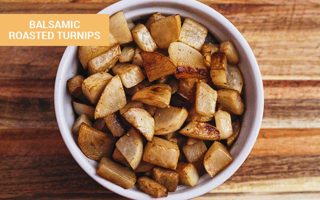keto roasted turnips