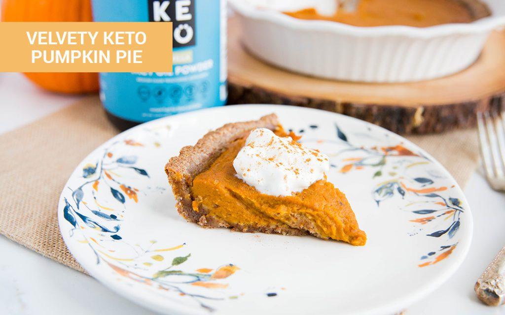 Keto Thanksgiving Recipes keto pumpkin pie