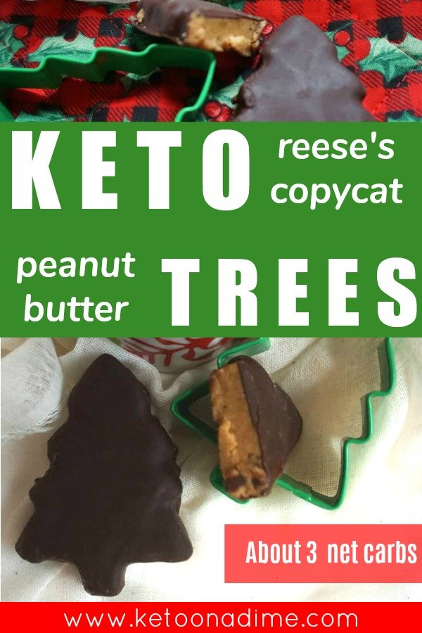 keto peanut butter trees