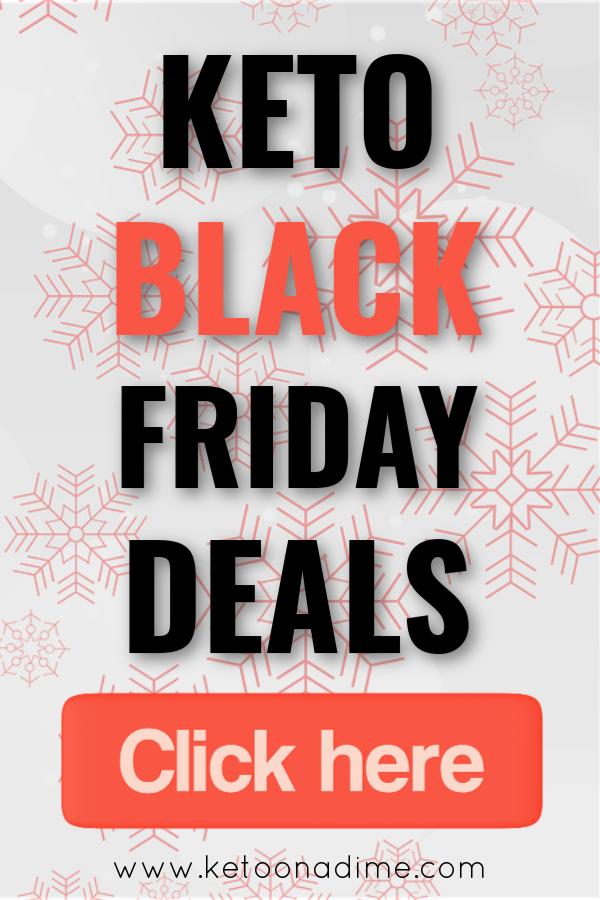 Keto Black Friday Deals