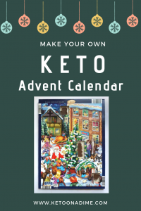 Keto Advent calendar