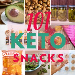 101 Keto Snacks