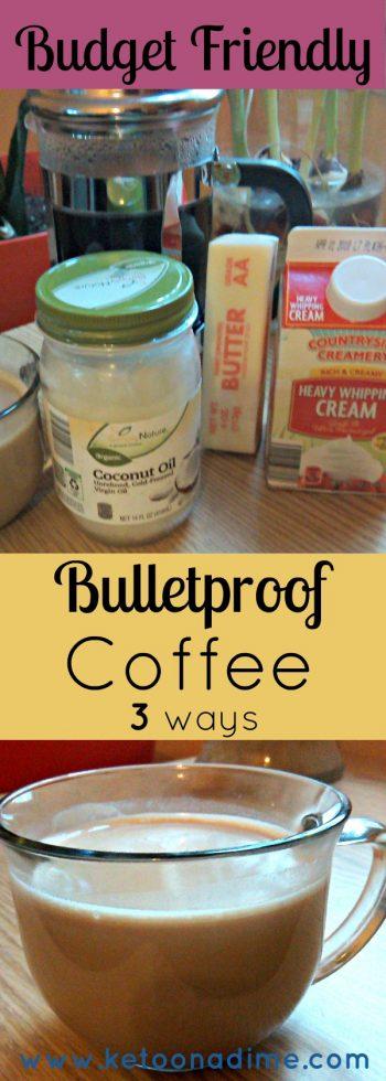 Budget Style Bulletproof Coffee